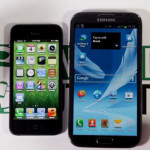Comparación en video del Samsung Galaxy Note 2 vs iPhone 5