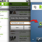 Evernote 2.0 para Android disponible en la Android Market.