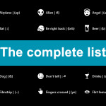 Lista completa de todos los emoticones en Windows Phone