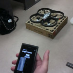 Ar Drone controlado por Windows Phone
