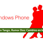 Windows Phone Tango, Rumor Dos: Cambios en Interfaz