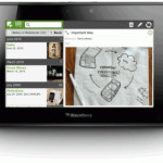 Disponible Evernote para BlackBerry PlayBook