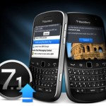 Versiones filtradas del OS BlackBerry 7.1 están disponibles para su descarga