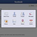 Facebook para BlackBerry PlayBook actualizado a v2.0.0.987