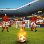 La aplicación de la semana Flick Kick Football gratis para iPad, iPod touch y iPhone