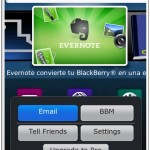 Screen Grabber, captura la pantalla de tu BlackBerry, con integración en BlackBerry Messenger