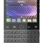 Porsche Design P'9981 Blackberry en Video