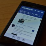 Aplicación de Facebook para Windows Phone actualizada