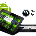 Blackberry playbook soportará aplicaciones Android