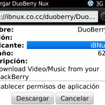 Descarga videos y música en tu smartphone BlackBerry con DuoBerry