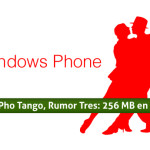 Windows Phone Tango, Rumor Tres: 256 MB en RAM